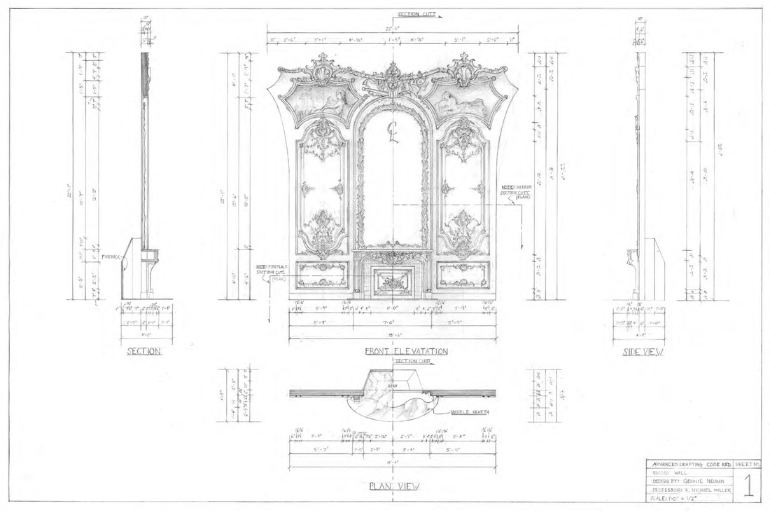 Drafting Amp Model Samples Gennie Neuman Lambert Scenic Design